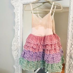 SALE Vintage Hearts PIXIE Dress